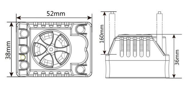 ZTW Beast SL120A Sensorless ESC za 1/10 modele