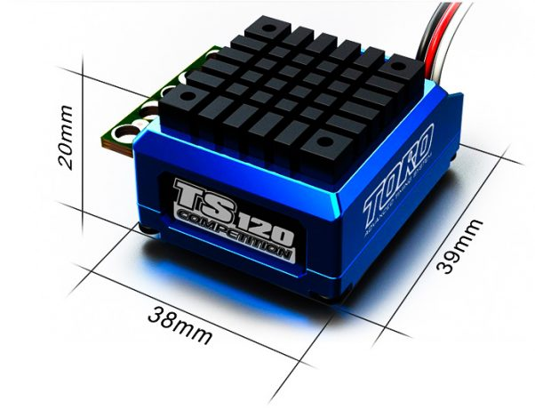 SkyRC Toro TS 120A Sensored Brushless ESC