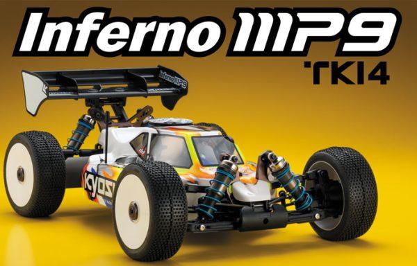 Kyosho Inferno MP9 TKI4 Racing Buggy Kit 1/ 8