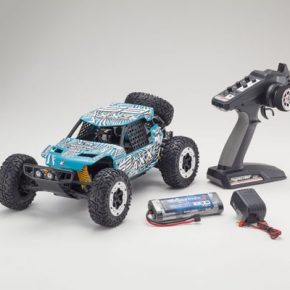 AXXE 1:10 EP BUGGY (KT231P) - T6 GREEN READYSET